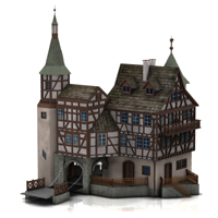 Gutenbach (for Poser)  Digimation_ModelBank
