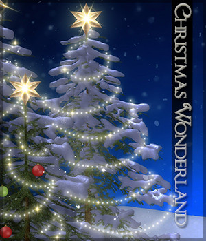 Christmas Wonderland 2D Graphics Sveva