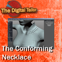 Conforming Necklace Video Tutorial Tutorials : Learn 3D Fugazi1968