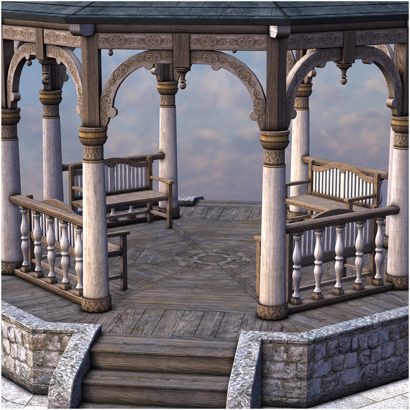 Magic Gazebo 3d Models Rpublishing