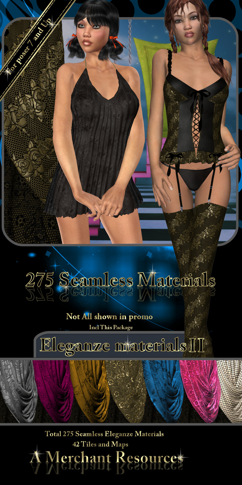 Eleganze materials II