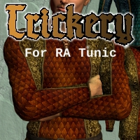 Trickery for the Rogue Armory Tunic 3D Figure Assets SickleYield
