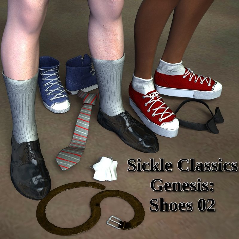 Sickle Classics Genesis: Shoes 02