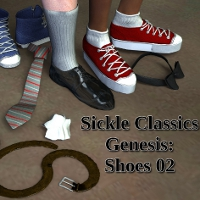 Sickle Classics Genesis: Shoes 02 Footwear SickleYield