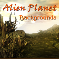 Alien Planet  2D 3D Models -Melkor-