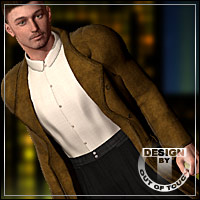 SMART for M4 Classic Trench Coat 3D Models 3D Figure Assets outoftouch