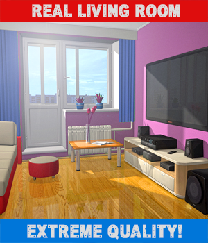 Real Small Room 3D Models hameleon