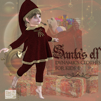 Santa's elf 3D Figure Essentials Tipol