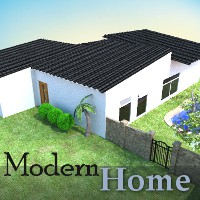 Modern Home Props/Scenes/Architecture Software TruForm