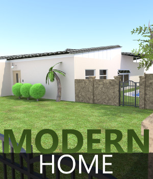 Modern Home 3D Models TruForm