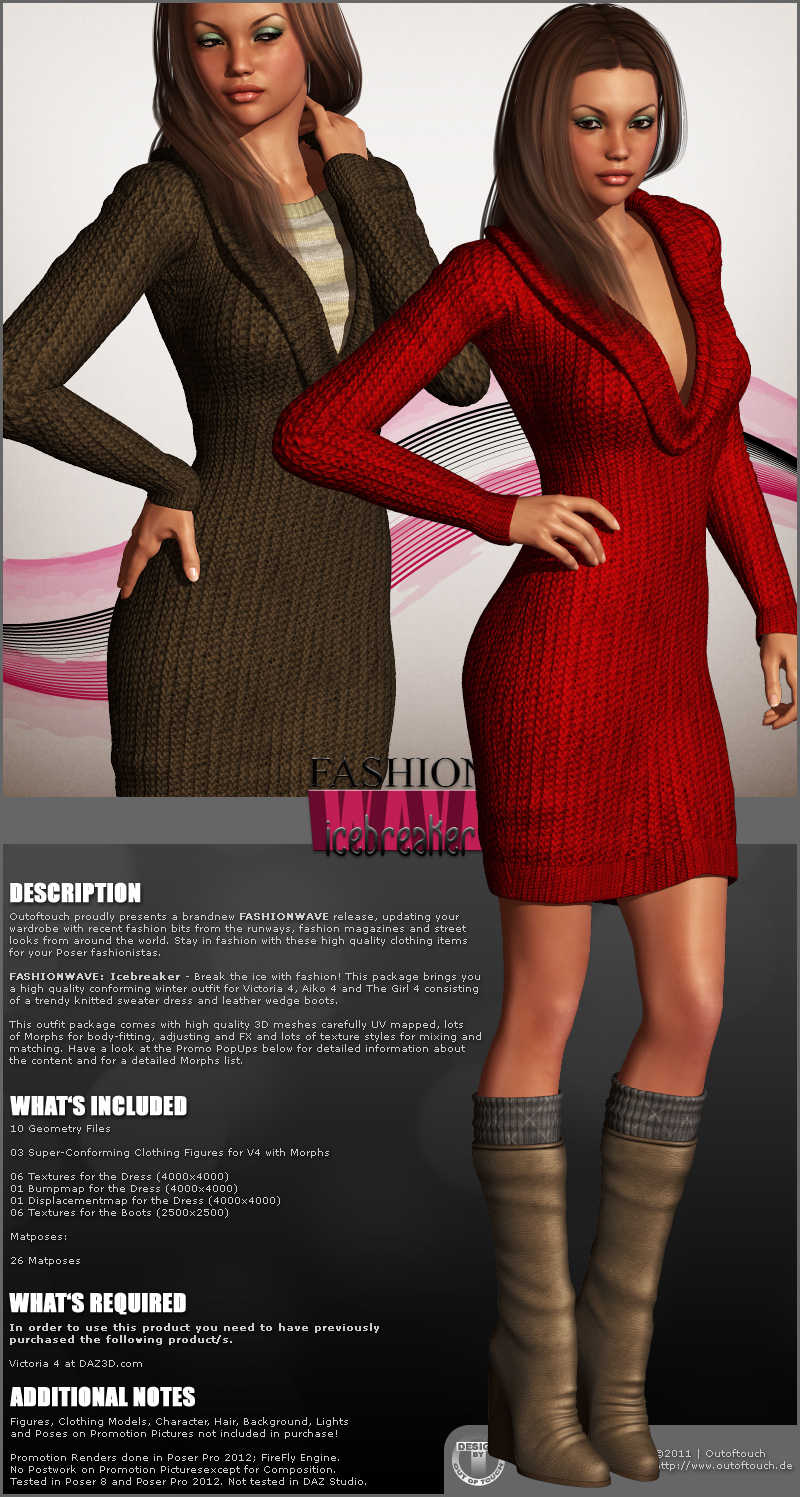 FASHIONWAVE Icebreaker for V4 A4 G4