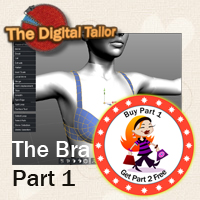 The Bra Part 1 Tutorials : Learn 3D Fugazi1968