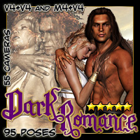 Dark Romance Poses/Expressions Themed Darkworld
