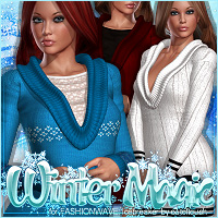 Winter Magic for FASHIONWAVE Icebreaker V4/A4/G4 Clothing ShanasSoulmate