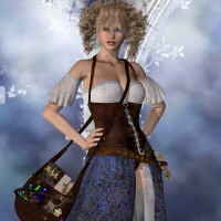 Star Enchantress Outfit for V4 image 1