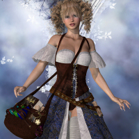 Star Enchantress Outfit for V4 image 4
