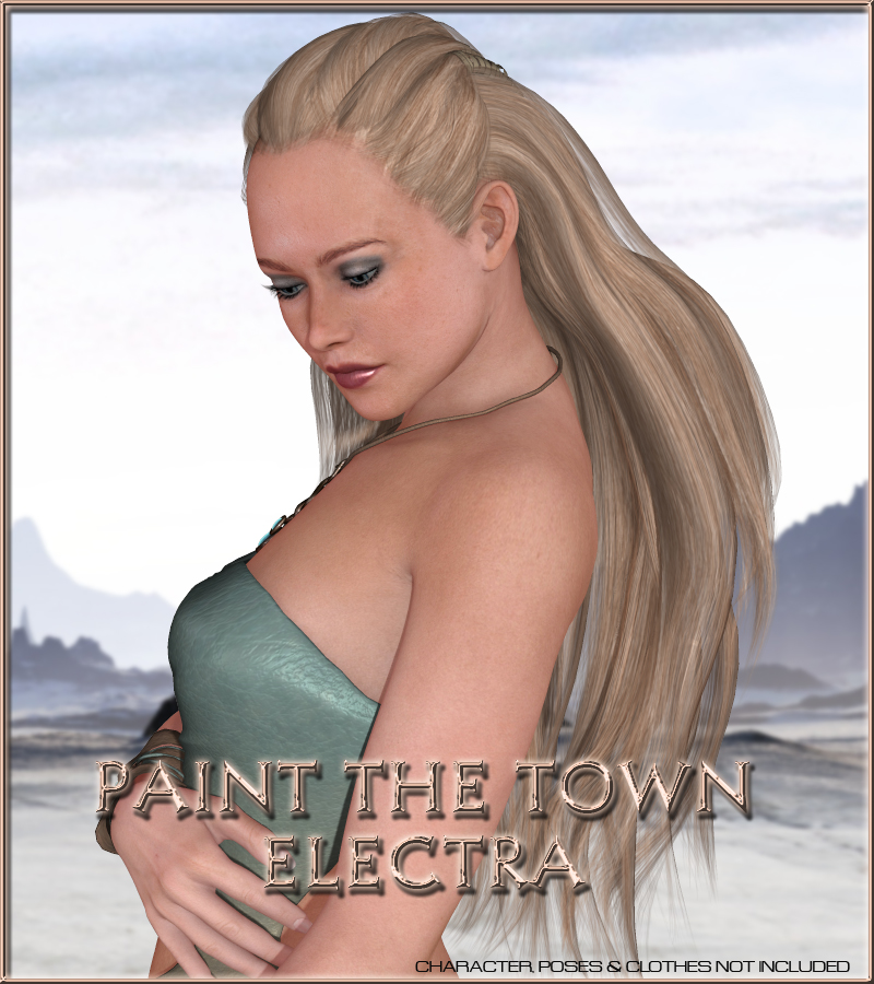 Paint the Town - Electra by vyktohria
