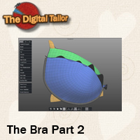The Bra Part 2 Tutorials : Learn 3D Fugazi1968