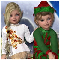Winter Elves Software Clothing Themed sandra_bonello