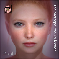 The Metropolitan Collection - Dublin V4.2 3D Figure Essentials danae