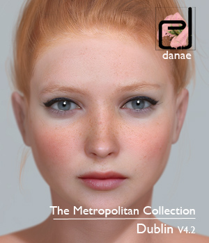 The Metropolitan Collection - Dublin V4.2 3D Figure Assets danae