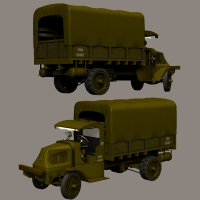 Mack AC 1917  3D Models 3D Figure Essentials Nationale7