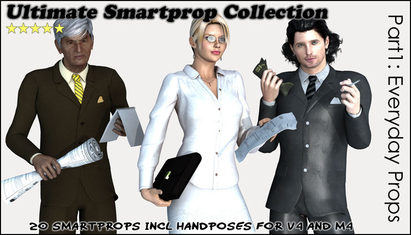 Ultimate Smartprop Collection I - Everyday Props