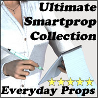 Ultimate Smartprop Collection I - Everyday Props 3D Figure Assets 3D Models Legacy Discounted Content 3-d-c