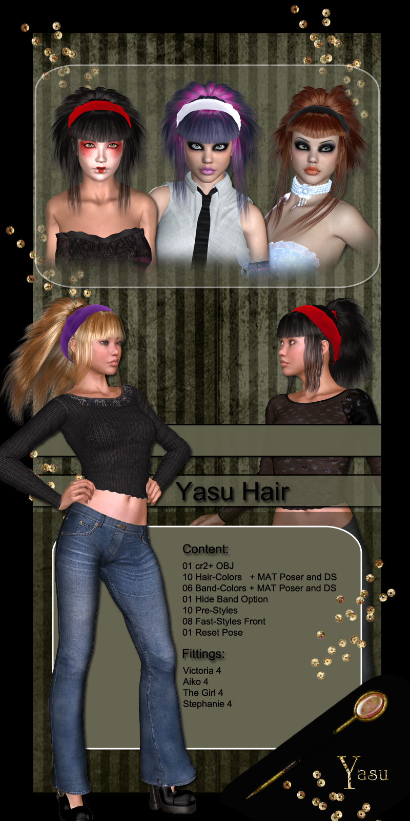 Yasu Hair for V4