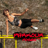 Parkour Poses V4 3D Figure Essentials apcgraficos