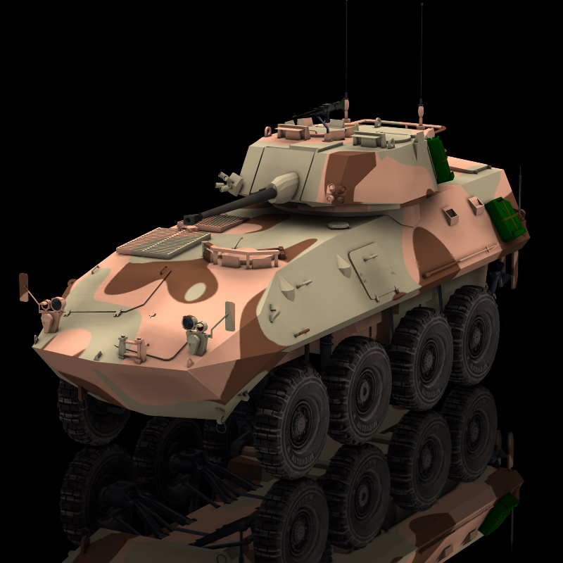 LAV 25 Piranha (for Poser)