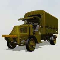 Mack AC 1917 for VUE Software 3D Models Nationale7