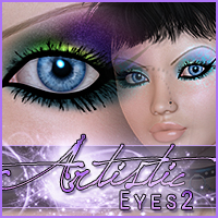 Merchant Resource: Artistic Eyes 2 2D Graphics Merchant Resources Sveva