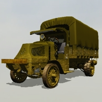 Mack AC 1917 muddy for VUE 3D Models 3DClassics