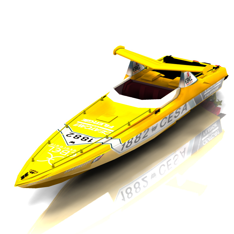 Offshore Racing Boat (for Poser)