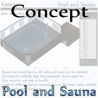 Pool and Sauna by 3-D-C image 1
