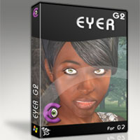 EYER for G2 (Upgrade) 3D Software : Poser : Daz Studio : iClone 3D Figure Assets zew3d