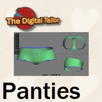 Panties Tutorials : Learn 3D Fugazi1968