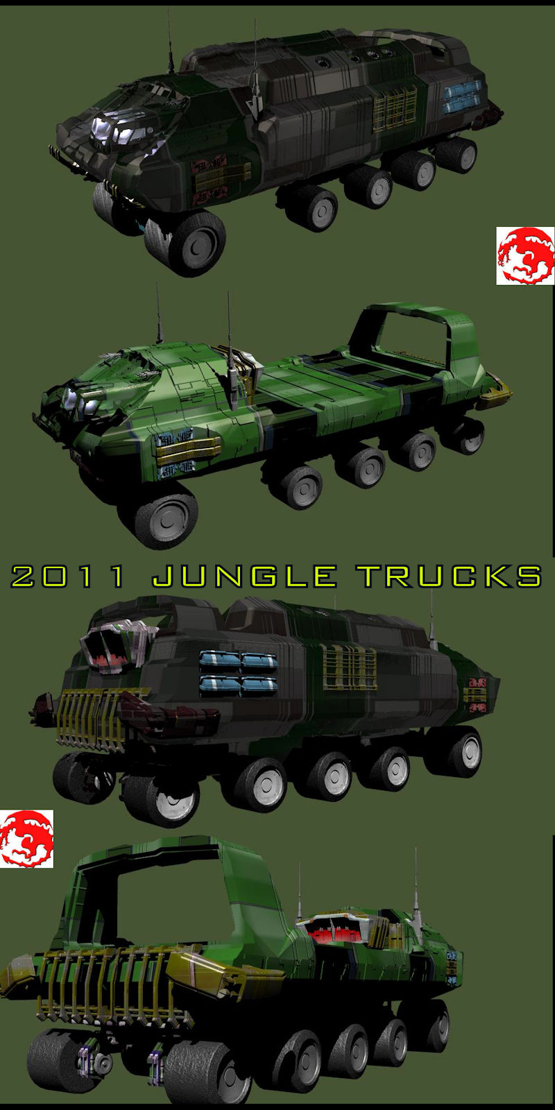 2011 JUNGLE TRUCKS