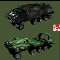 2011 JUNGLE TRUCKS 3D Models rj001