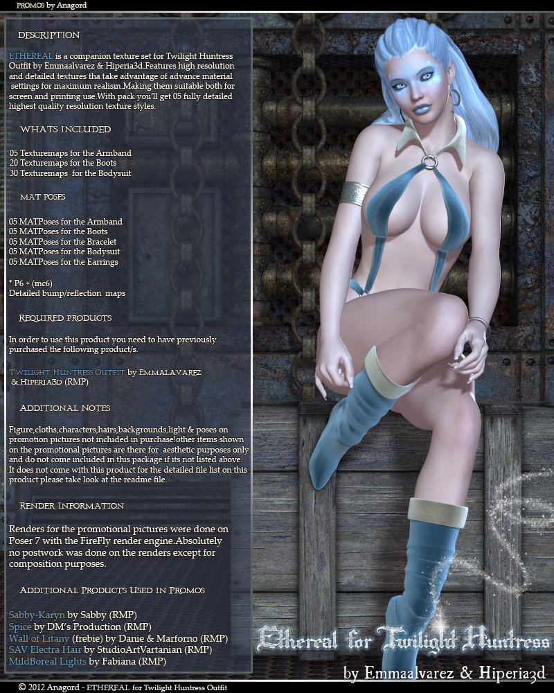 ETHEREAL for Twilight Huntress Outfit