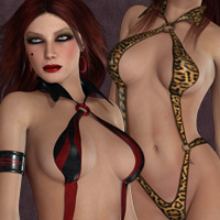 Vixen for Twilight Huntress 3D Models 3D Figure Assets kaleya