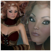 GA Krysia For Victoria 4.2 Themed Clothing Characters Artemis