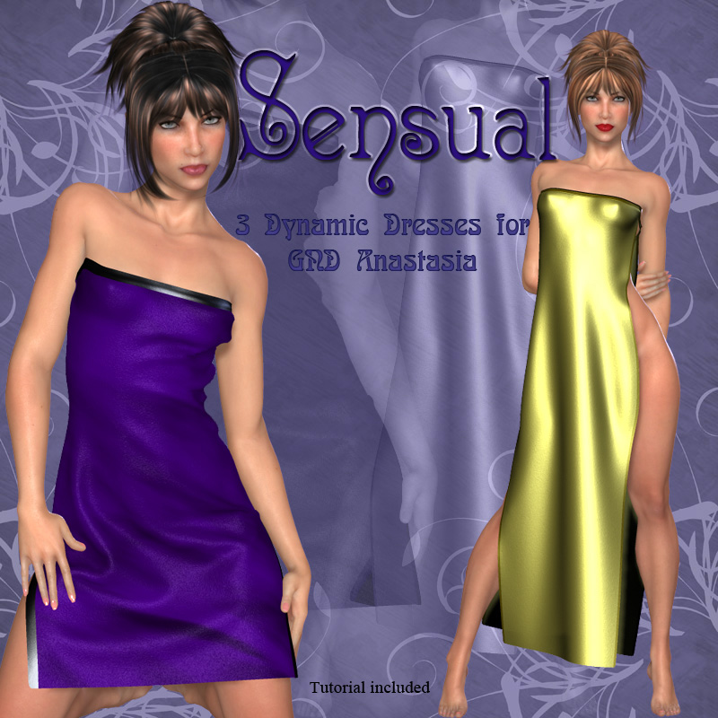 Sensual-Dynamic Dresses for GND-Anastasia