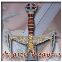 Anarchy Fantasy Weapons (Poser, OBJ & 3DS) Themed Props/Scenes/Architecture RPublishing