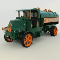 MACK AC 1926 TANK TRUCK ( FOR VUE ) Software 3D Models Nationale7