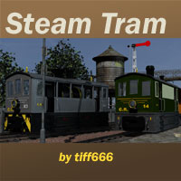 Steam Tram 3D Models tiff666