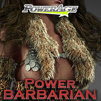 Power Barbarian V4/A4/G4/Elite/F4 3D Models 3D Figure Assets powerage