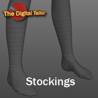 Stockings Part 1 Tutorials : Learn 3D Fugazi1968