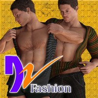 DZ DeepChest for M4H4Guy4 3D Figure Essentials dzheng